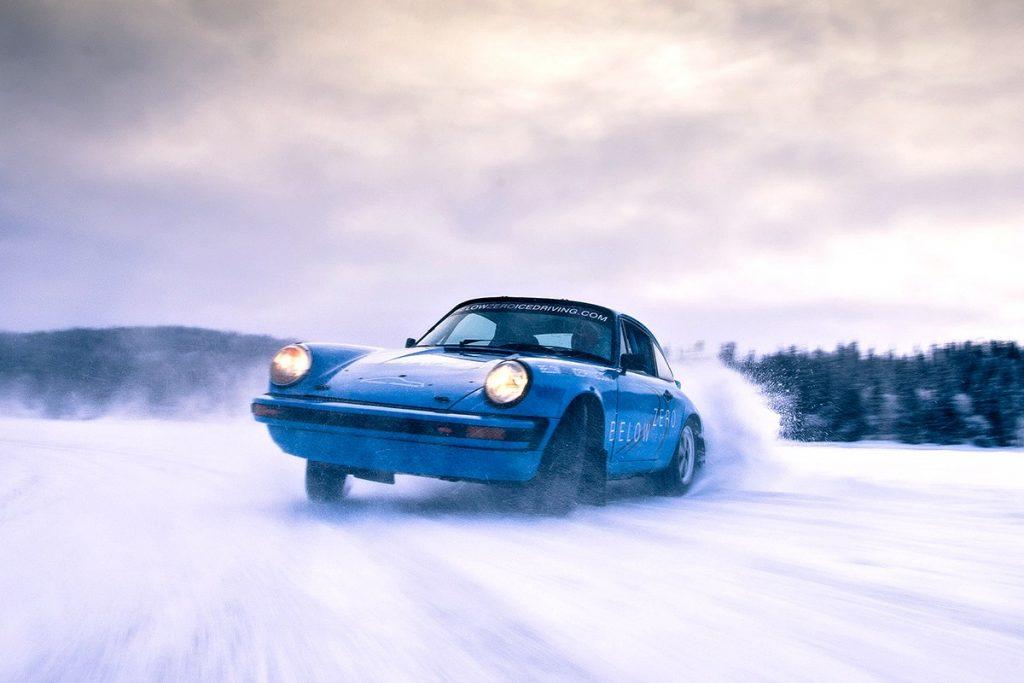 Ice driving