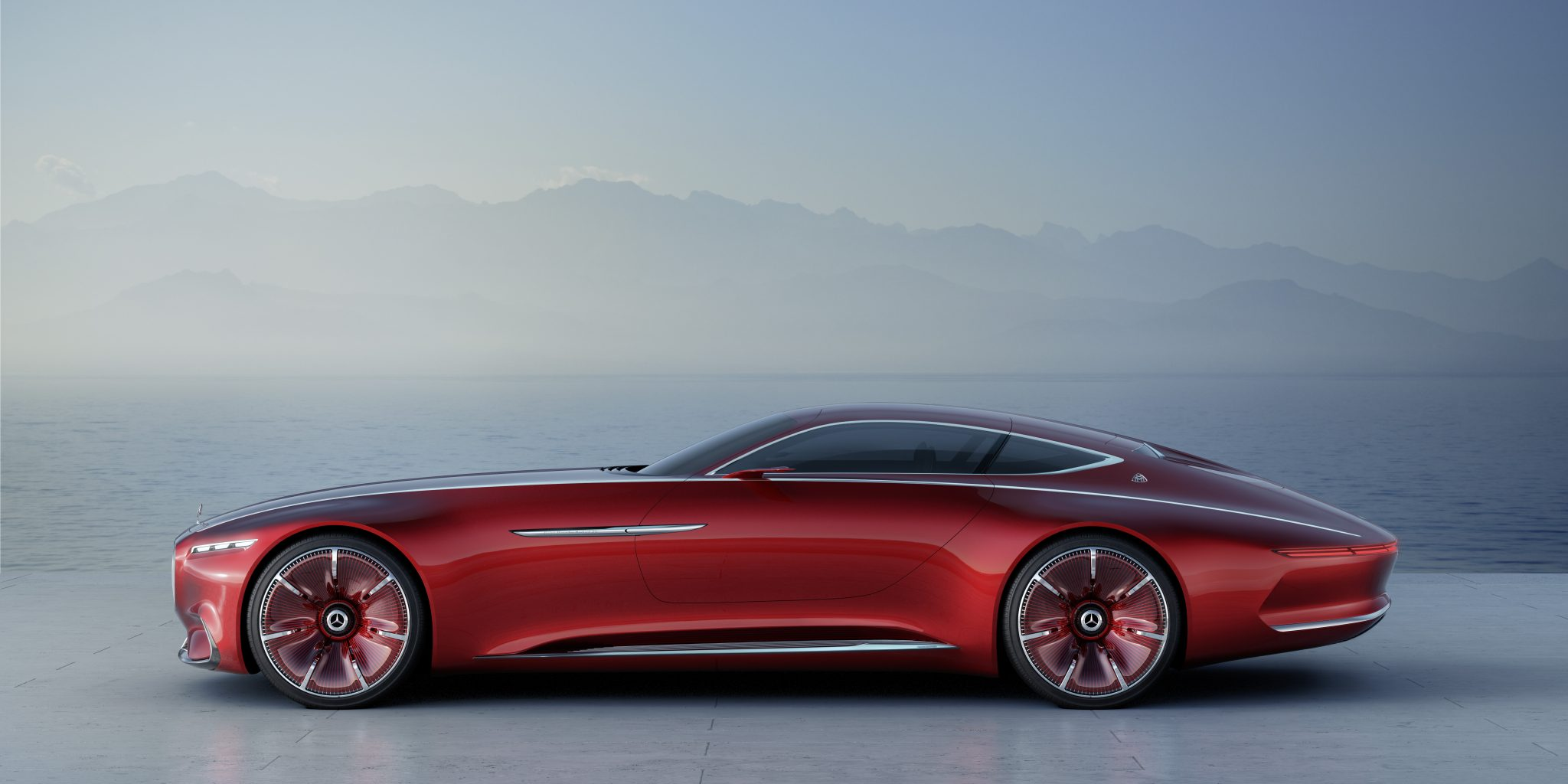 2016 Vision Mercedes Maybach concept