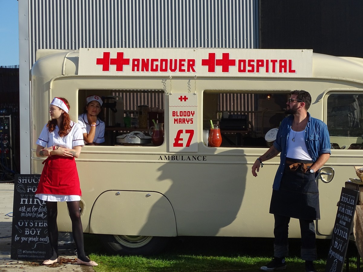 Hangover Hospital at the Goodwood Revival 2017