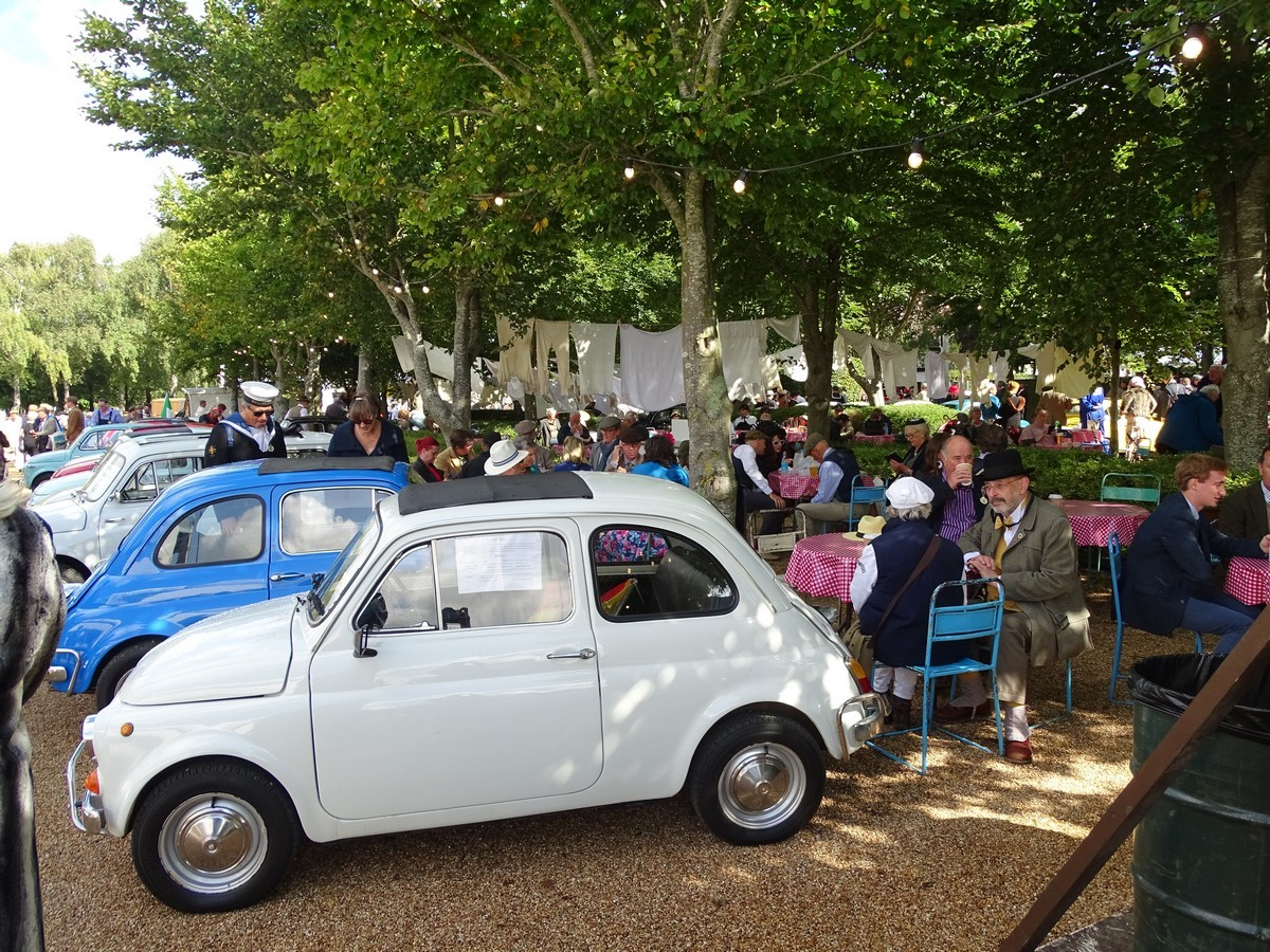 Fiat 500s at the Goodwood Revival 2017