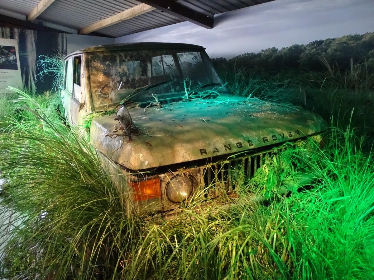 Swampy the swamp found Range Rover