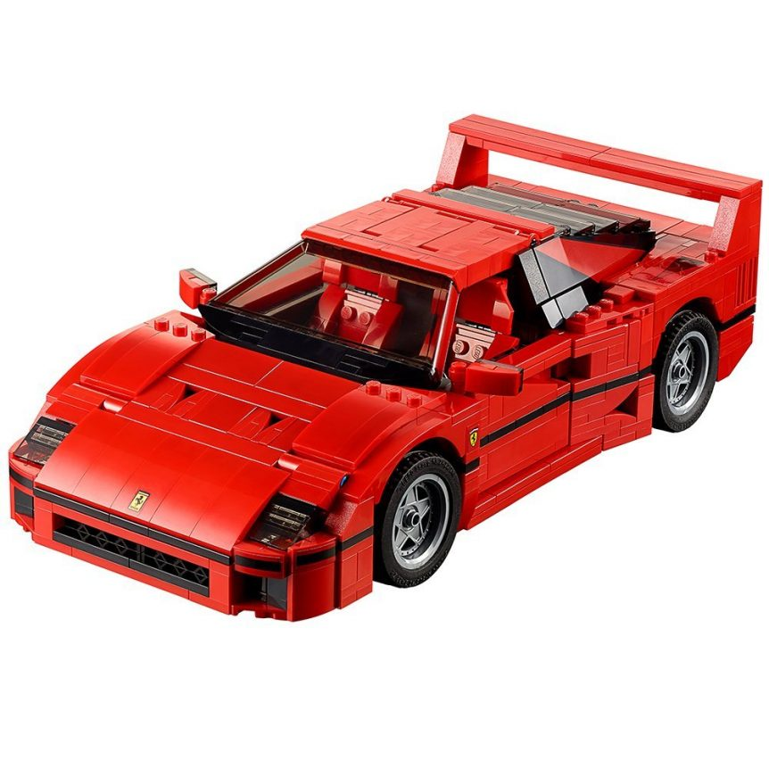 Lego model cars Ferrari F40