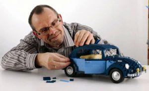 Lego car VW Beetle