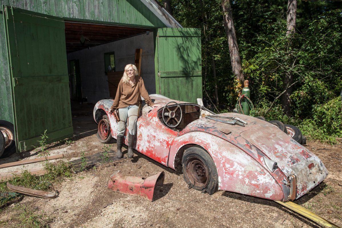 Barn find Jaguar XK