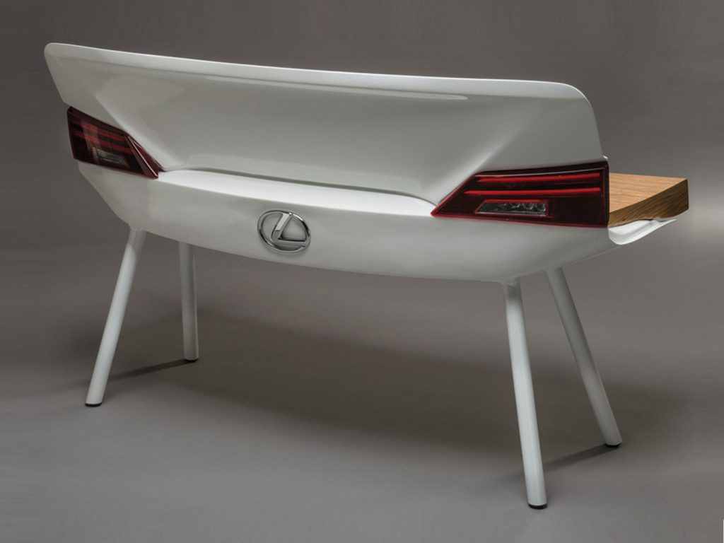 Car furniture Lexus bench