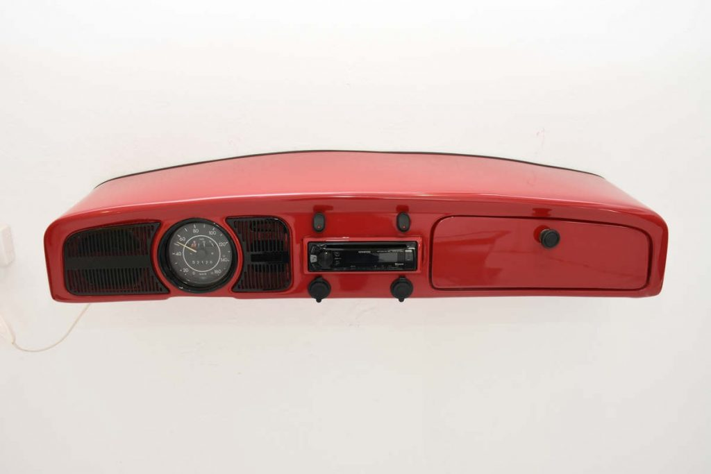 Car furniture VW Beetle console