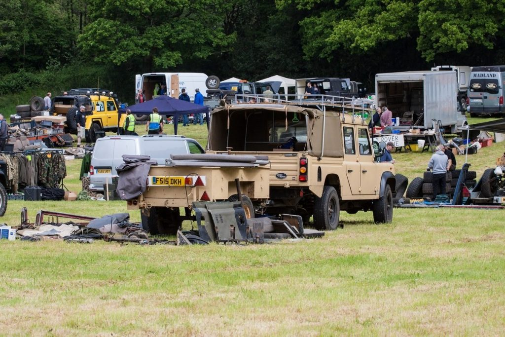 Land Rover Rummage at Beaulieu