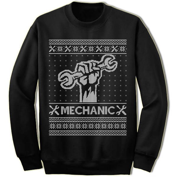 Mechanic Christmas jumper