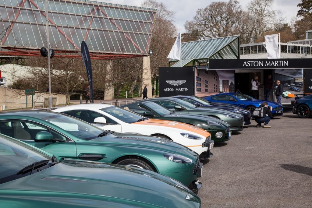 Simply Aston Martin at Beaulieu