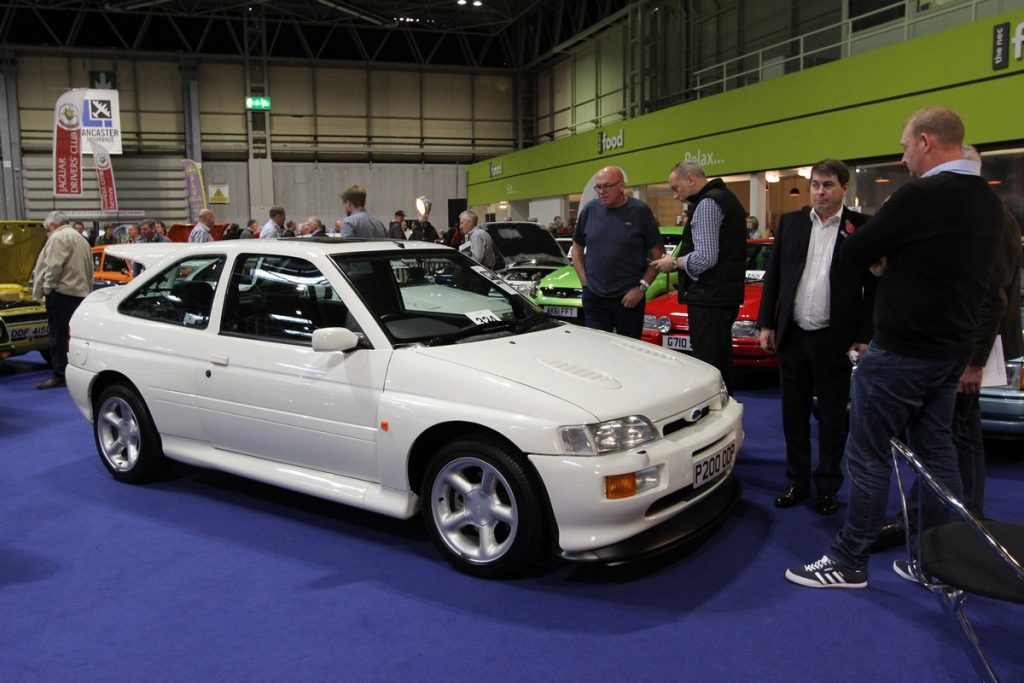 Low mileage Ford Escort Cosworth