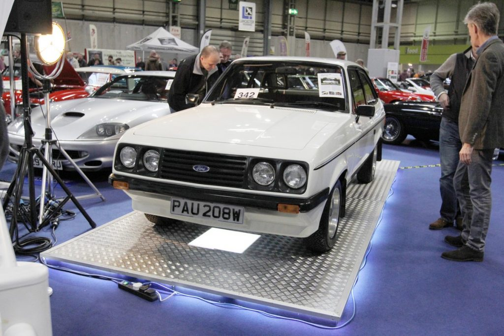 1980 Ford Escort RS2000 sold for a record £97,875 in the Silverstone Auctions sale