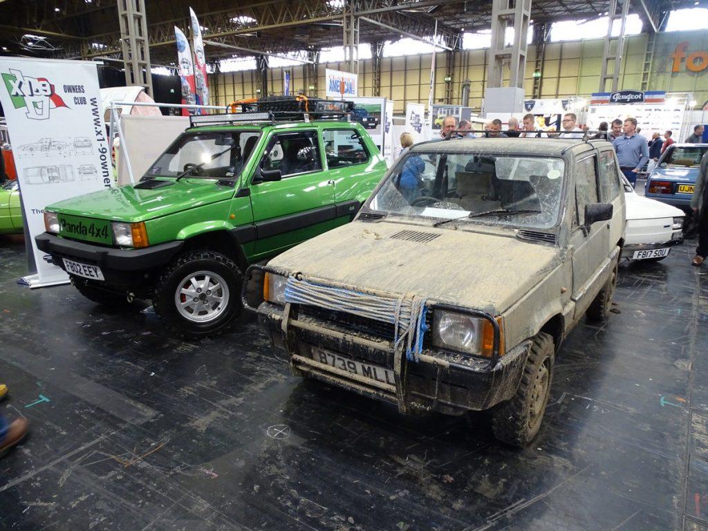 Fiat Panda 4x4's