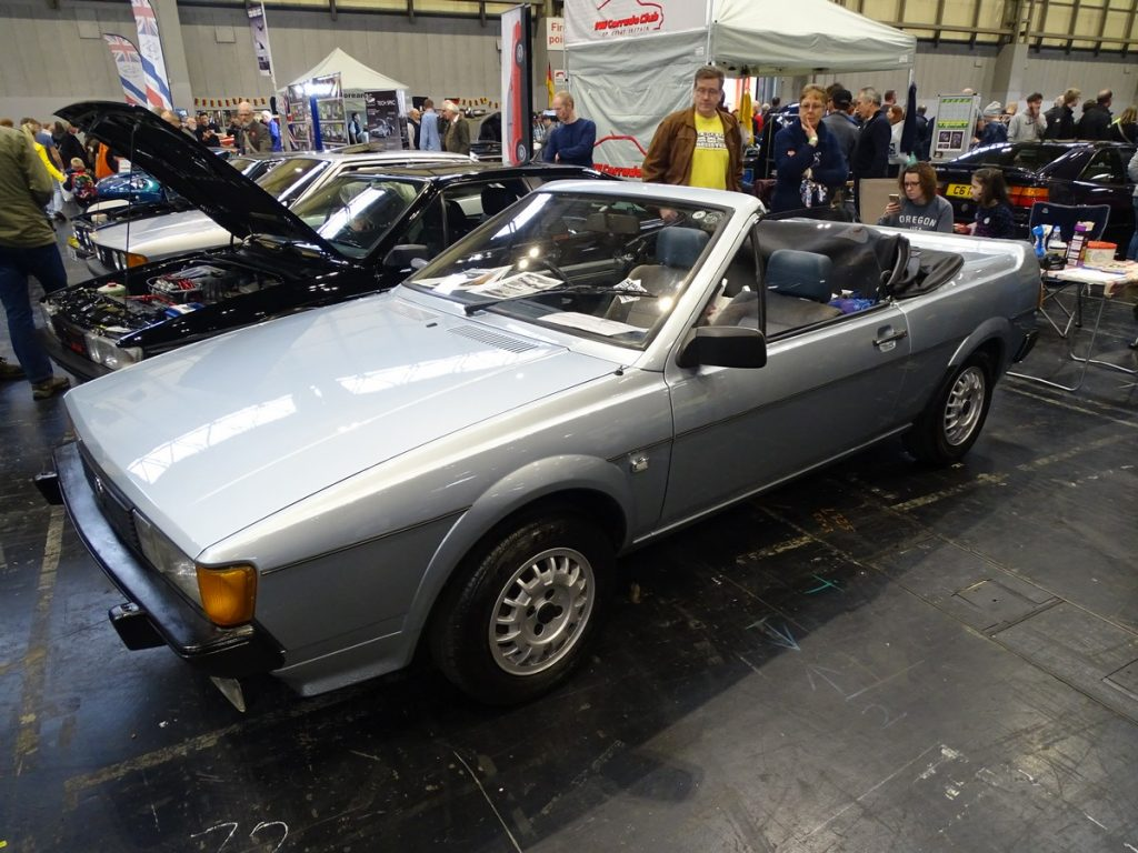 Convertible VW Scirocco