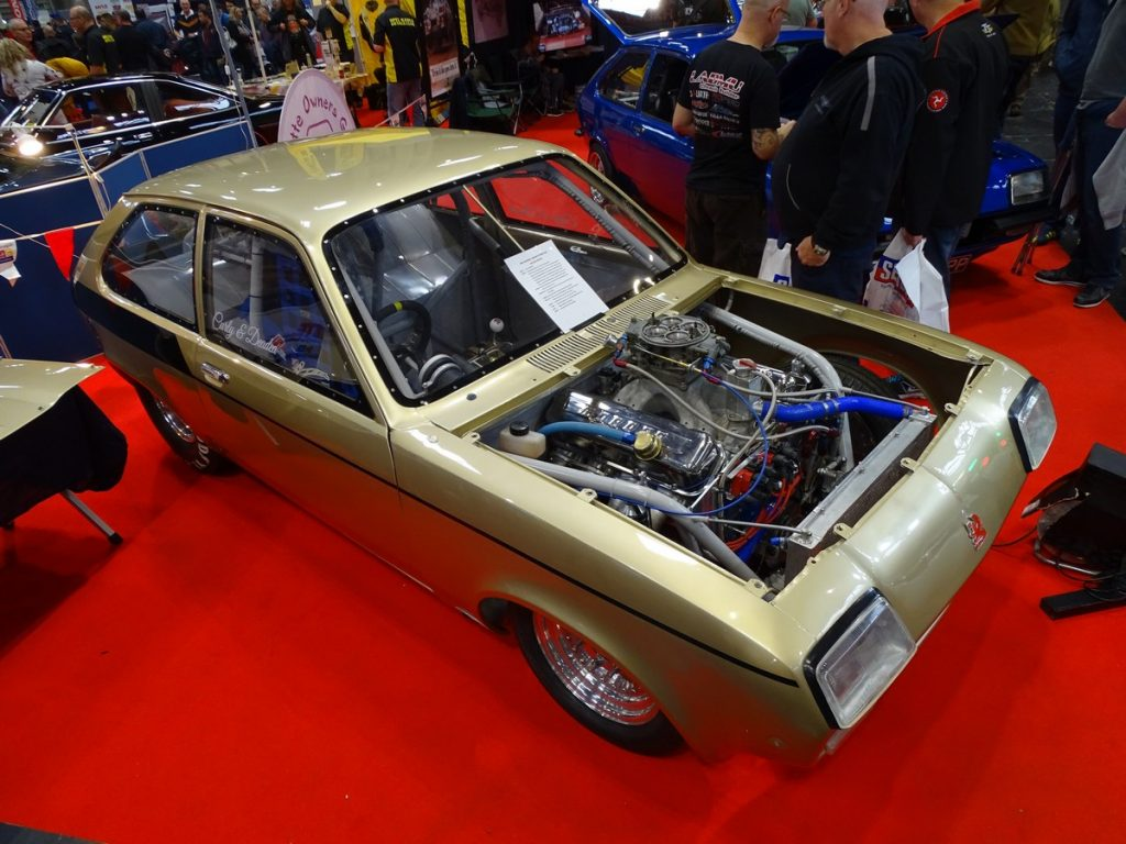 A Vauxhall Chevette with a lot more power than when it left the factory
