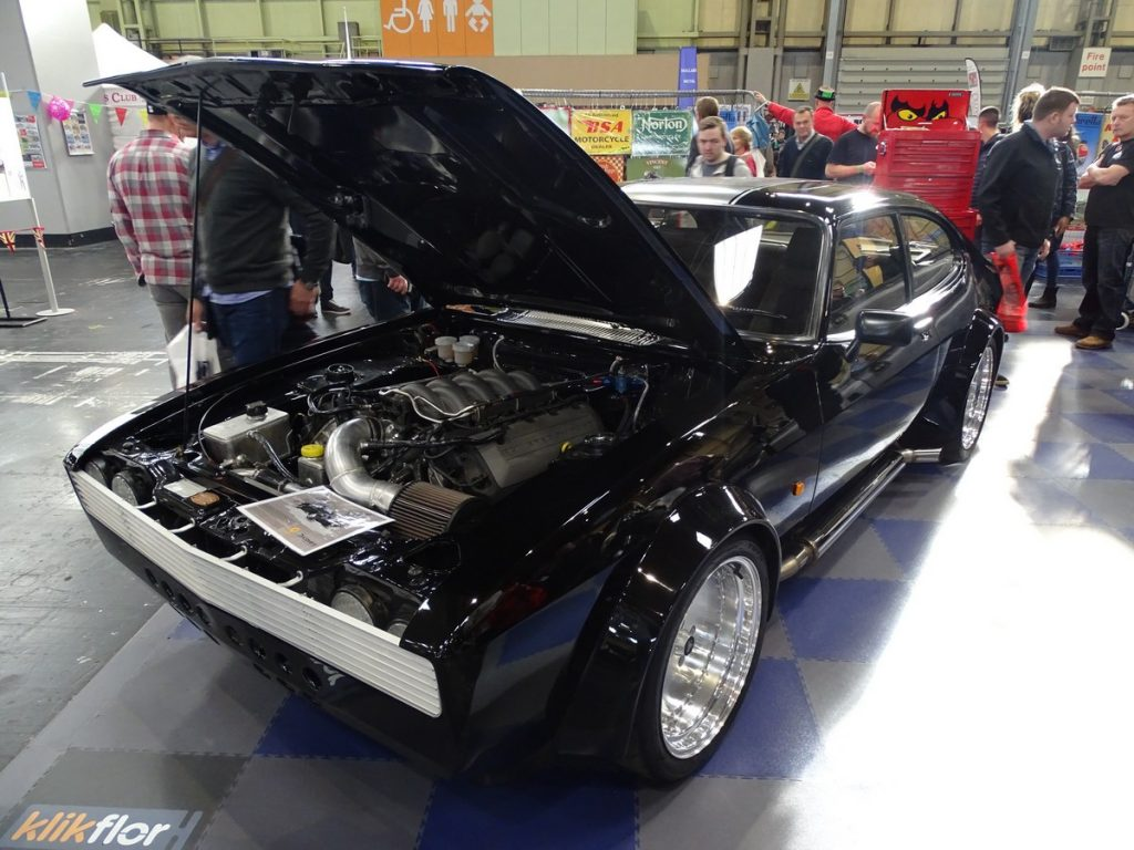 Mustang V8 powered Capri made for a new TV show