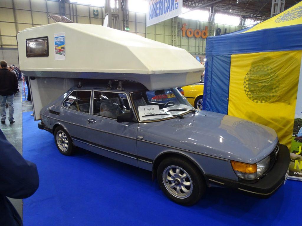 Saab 900 Camper