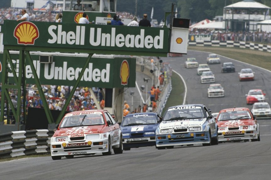 1989 British Touring Car Championship. Brands Hatch