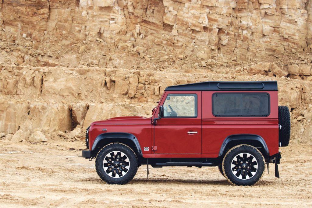 Classic Land Rover Defender Works V8