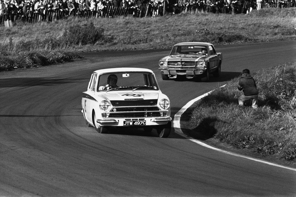 1965 British Saloon Car Championship. Oulton Park