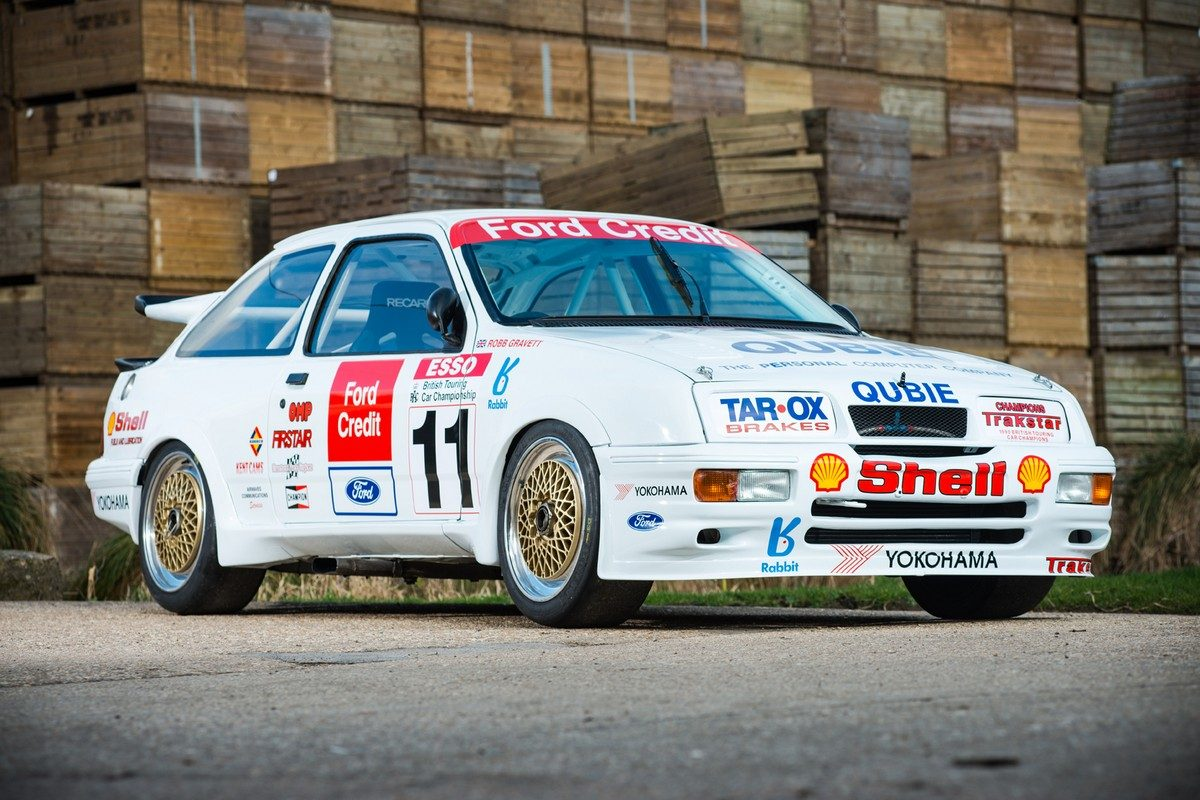1990 BTCC Championship winning Ford Sierra Cosworth RS500