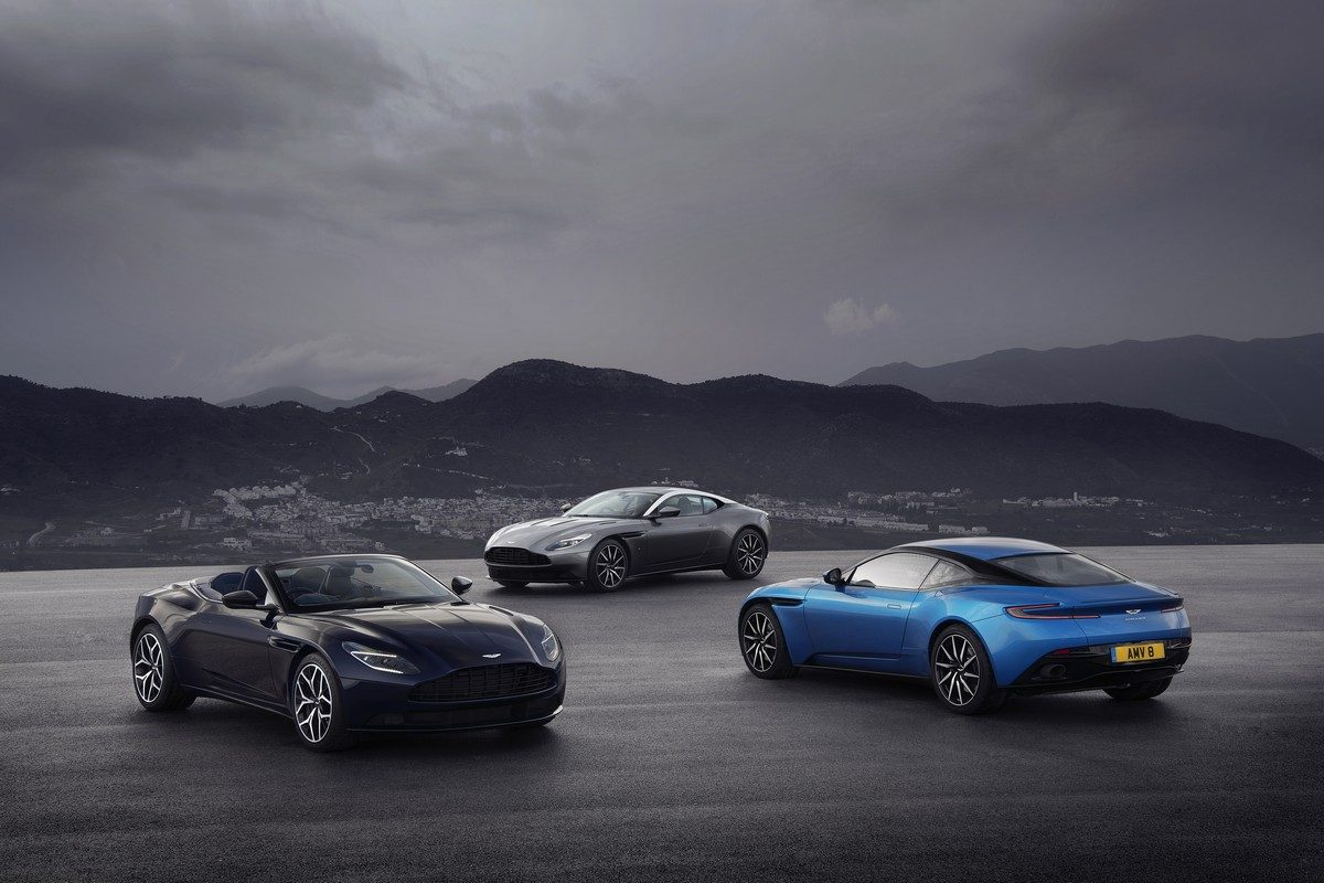 Aston Martin at the Geneva Motorshow 2018
