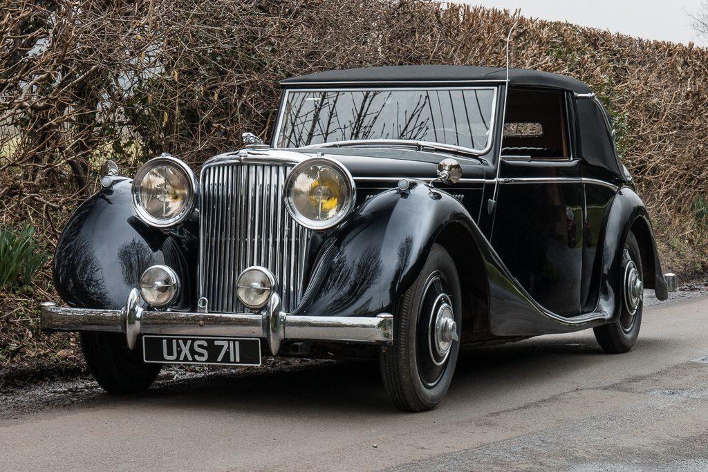 1948 Jaguar 3.5 litre Mark IV Drophead Coupe