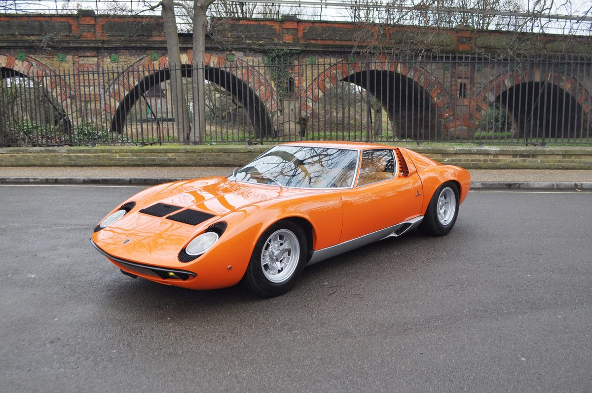 1967 Lamborghini Miura to SV Specification COYS Essen 2018