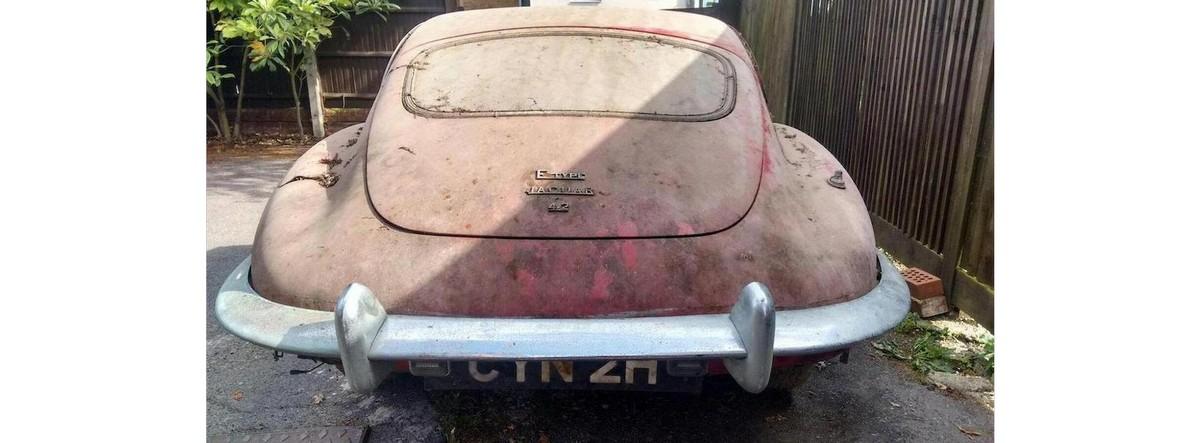 1970 Jaguar E-Type 'Series 2' Coupé Barn Find