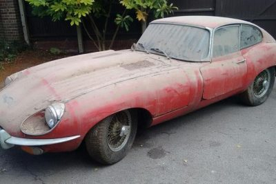 1970 Jaguar E-Type 'Series 2' Coupé Barn Find