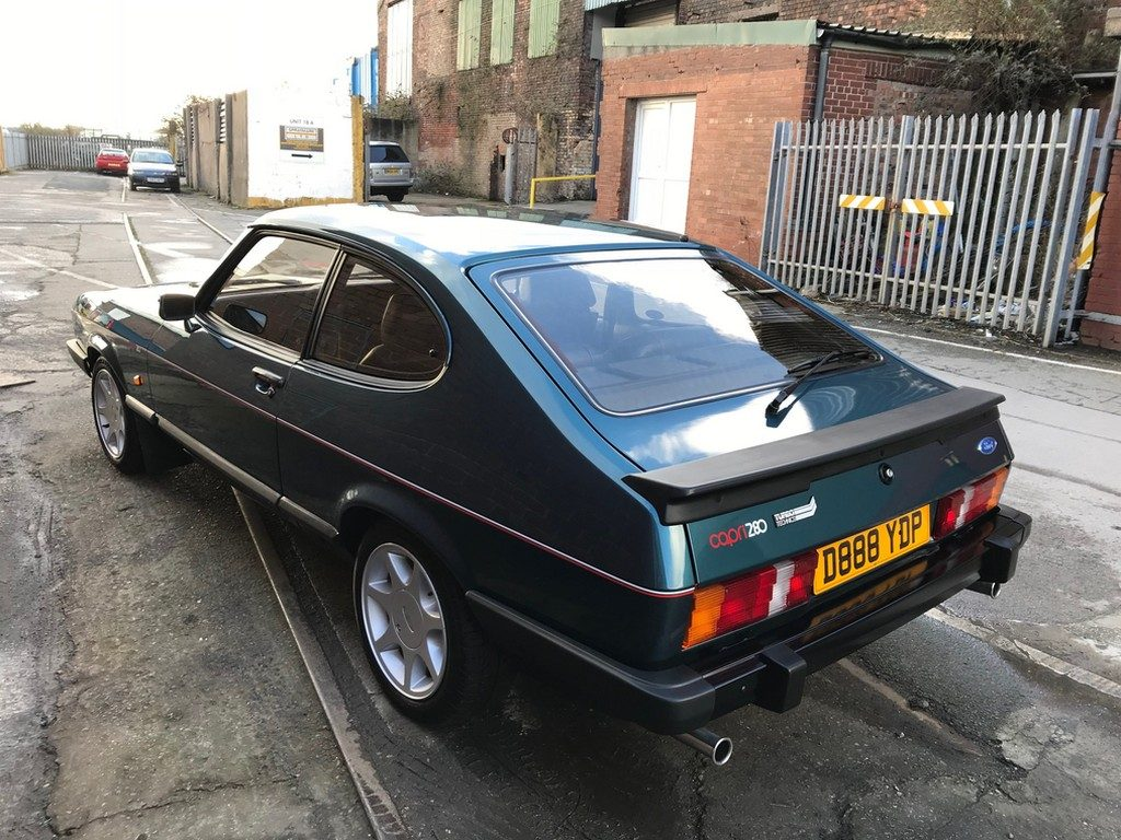 1987 Ford Capri 280 Brooklands Turbo Technics