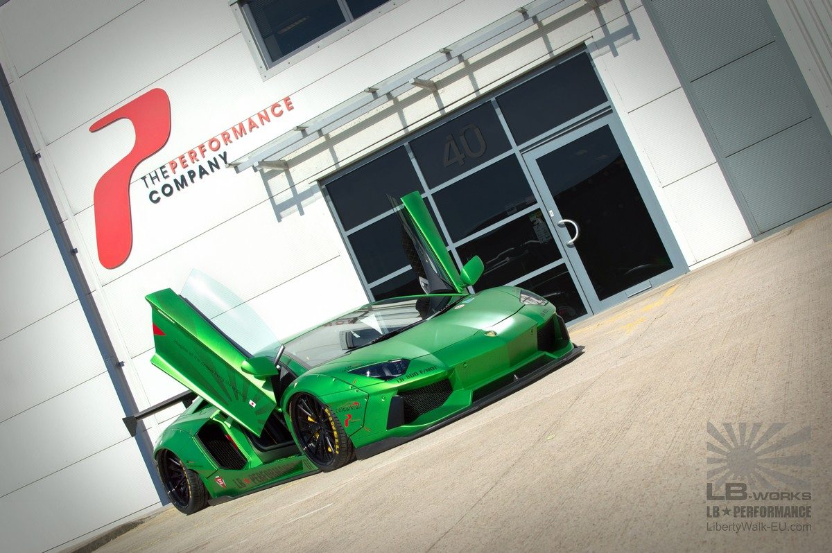 The Performance Company Aventador