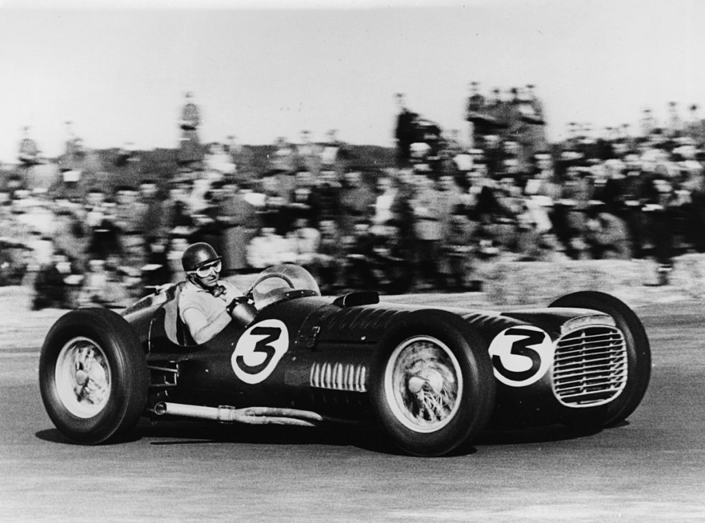 BRM V16 (National Motor Museum car) at Silverstone 1953