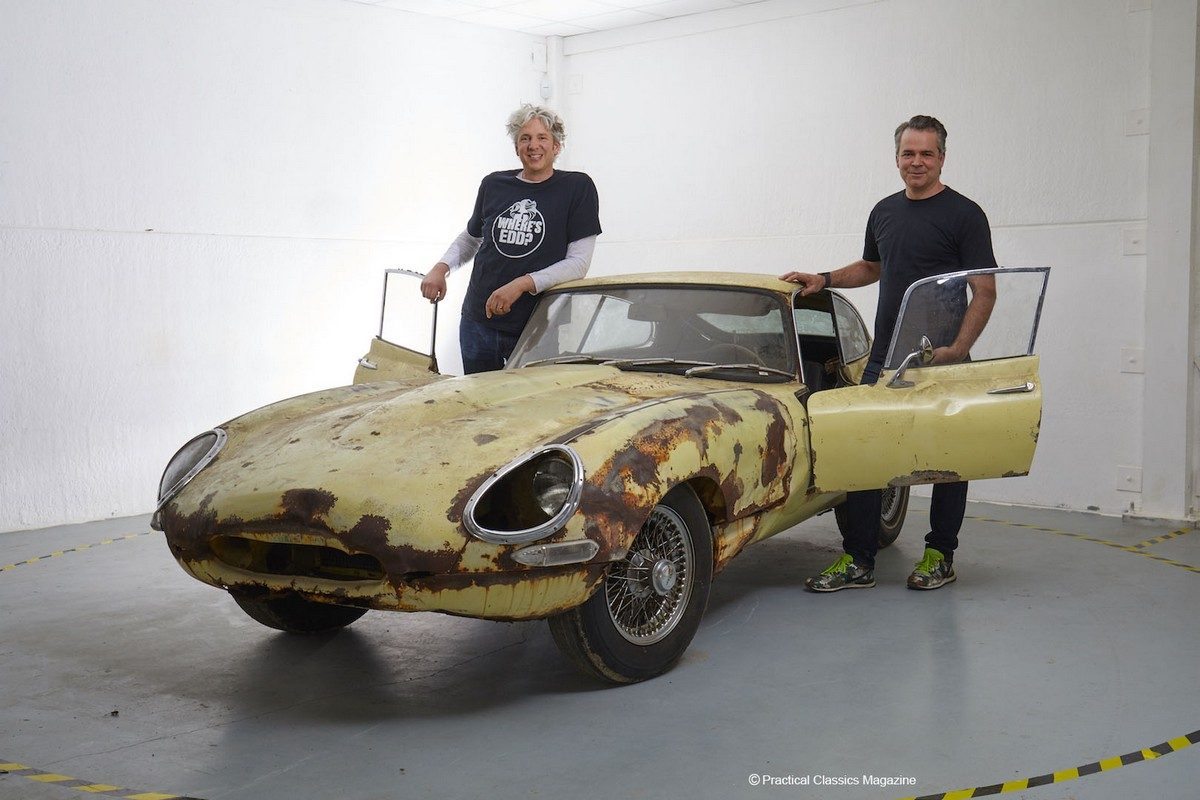 Built by many, Edd China and Al Cox