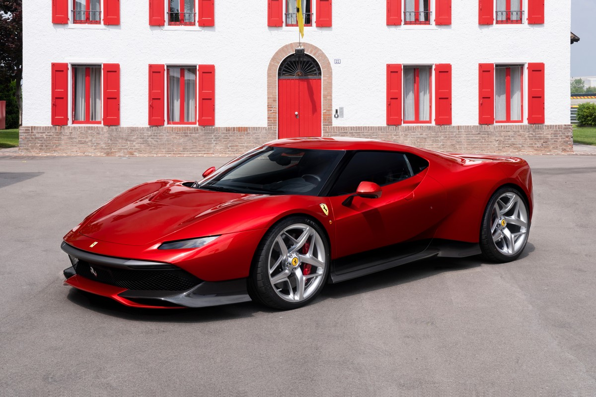 ferrari sp38 from ferrari s one off programme petrolheadism. Black Bedroom Furniture Sets. Home Design Ideas