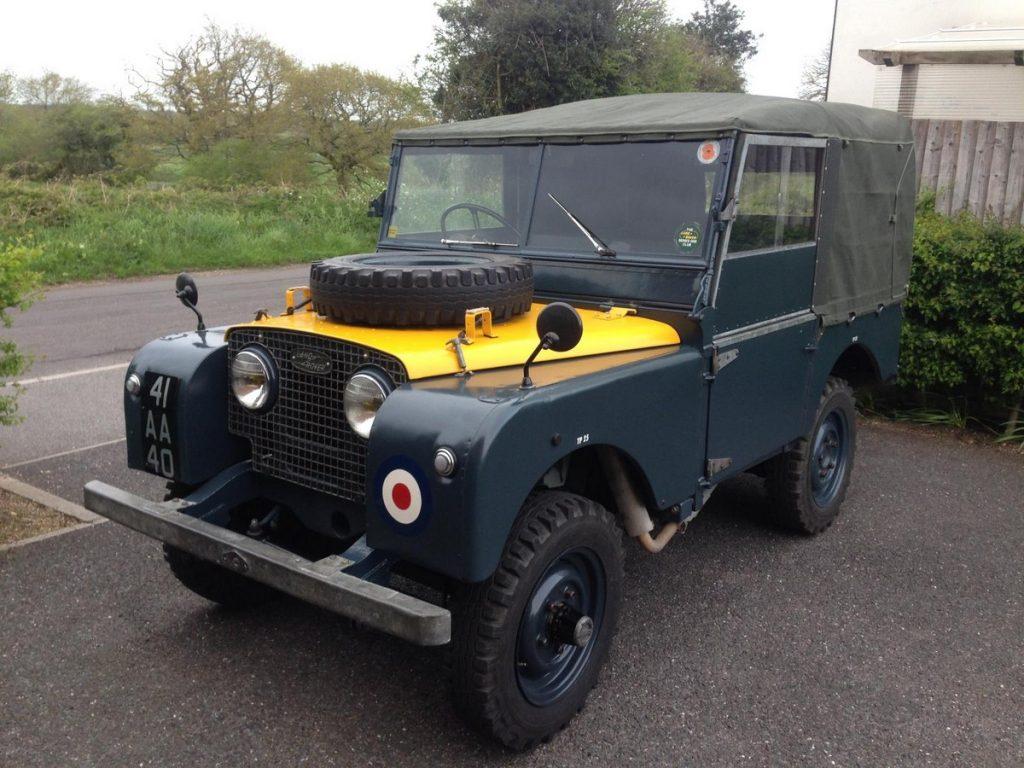 Royal Air Force Land Rover Series I