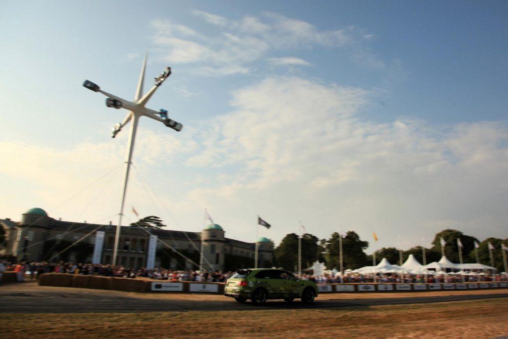 Bentley Bentayaga Pike Peak at the 2018 Goodwood Festival of Speed