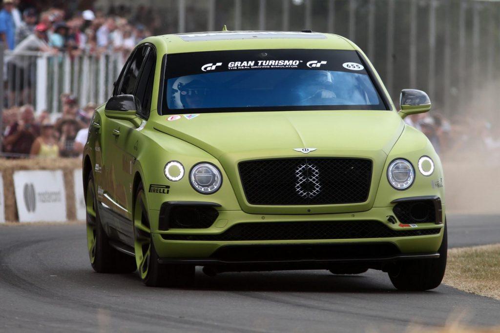 Bentley Bentayaga Pike Peak at the Goodwood Festival of Speed 2018