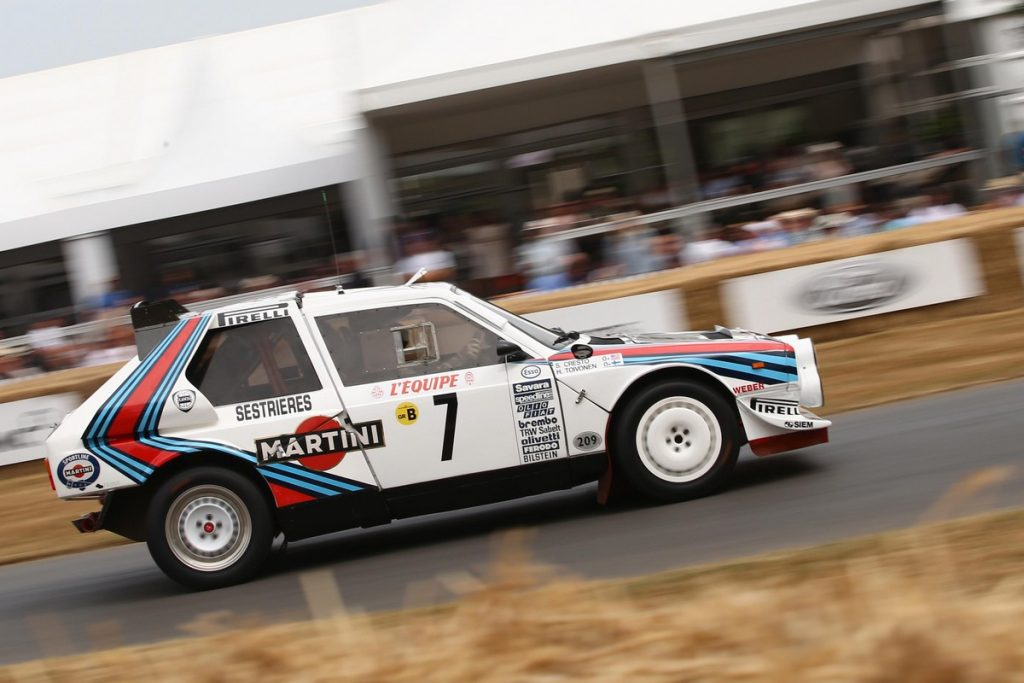 Lancia Delta S4 at the Goodwood Festival of Speed 2018