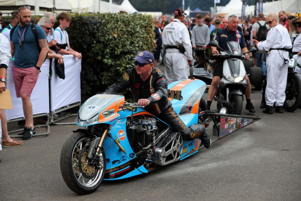 Top Fuel Dragbike