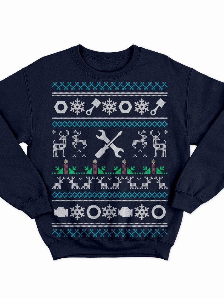 Mechanic Christmas Sweatshirt